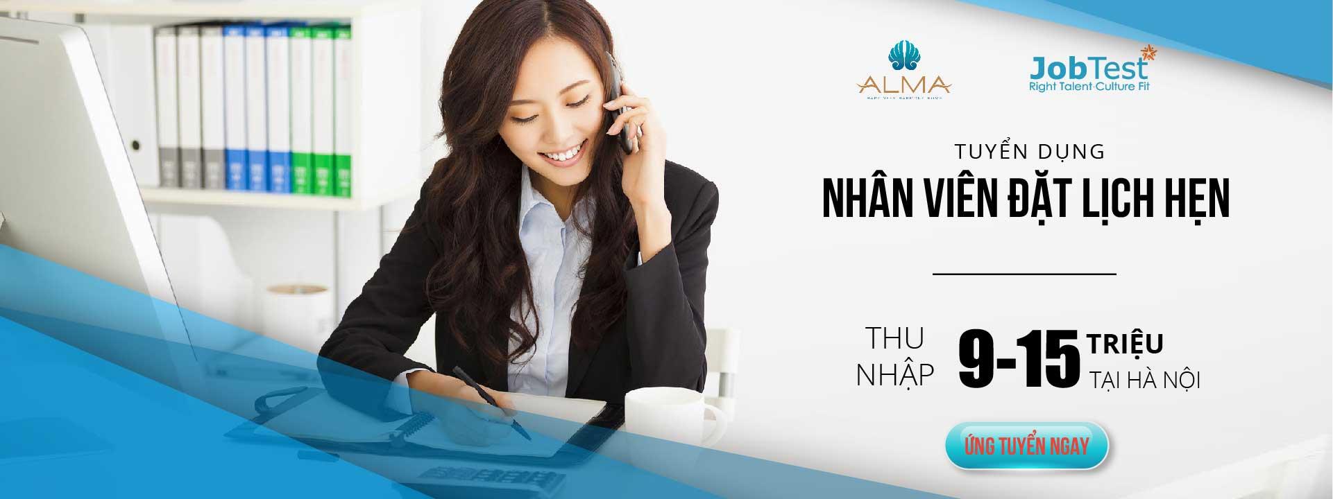 Nhân viên đặt lịch hẹn (Alma)