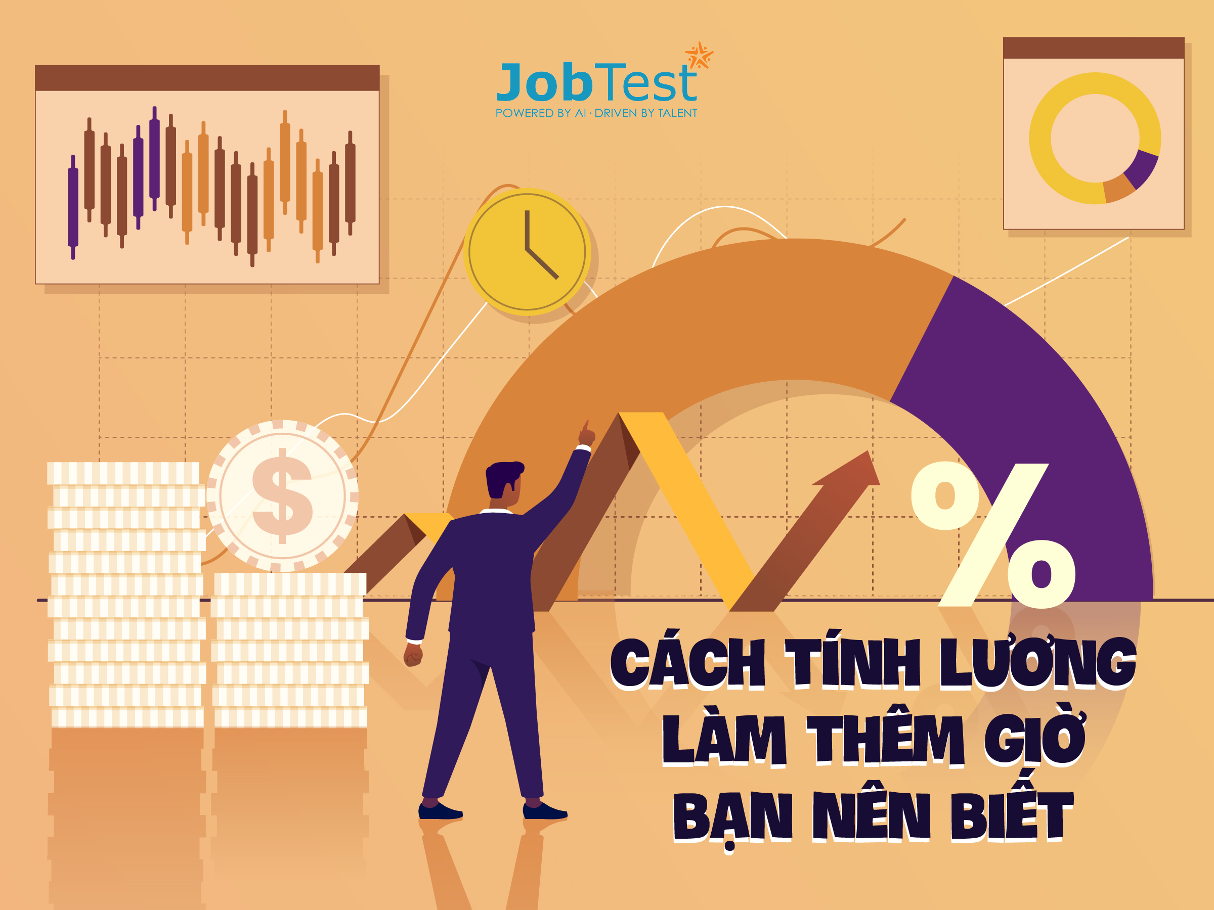 Cách tính lương làm thêm giờ bạn nên biết